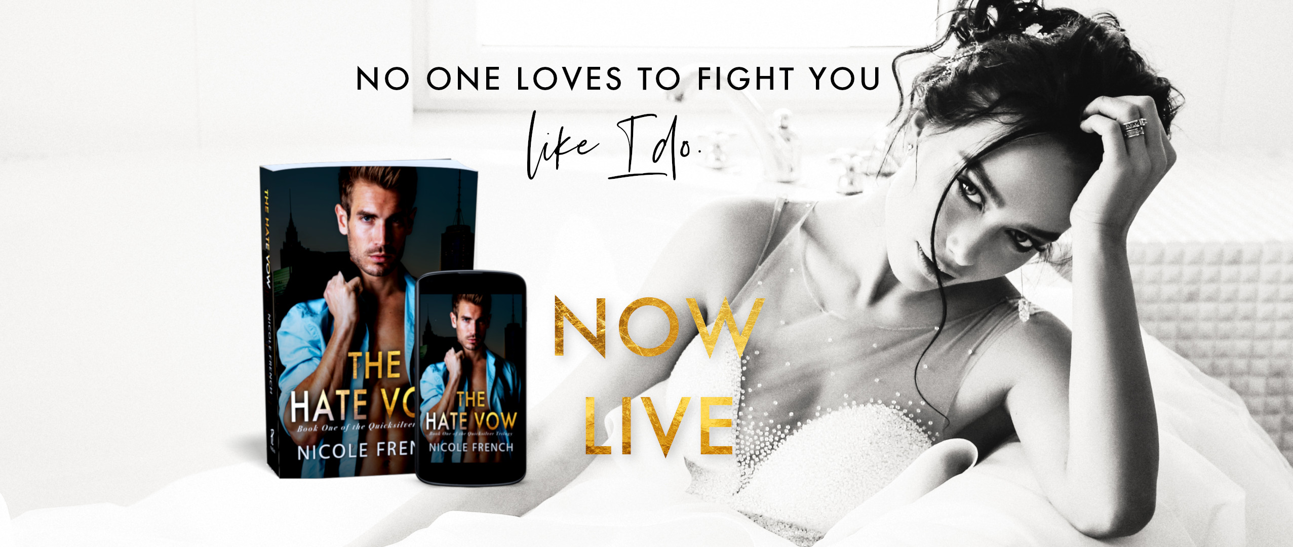 Spotlight:  The Hate Vow by Nicole French